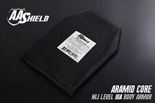 Bullet Proof Soft Body Armor Inserts Ballistic Plate Lvl IIIA 3A 10x12Cut#2