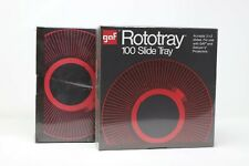 (2x) NEW GAF  Rotary 100 Slide Tray for GAF Minoltal Sears Wards Projectors