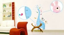 Height Measurement Growth Chart tree Elephant - Wall Decal Removable Sticker
