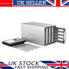ORICO [USB 3.0 Raid] Aluminium 4 Bay 3.5 Inch SATA lll Hard Drive Enclosure Case