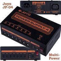 Joyo JP-04 Multi Power Supply, 7x9V + 1x 12V  oder 18V/DC NEU! = isolated