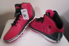 NWT Adidas D Rose 4.5 Brenda Breast Cancer Mens Basketball Shoes 17 Berry $140