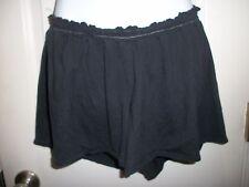TORRID Pajama Bottoms Shorts PLUS Size 1 Stretchy Smocked elastic waist