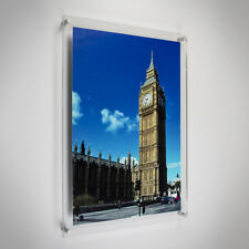 "Modern Acrylic Picture & Photo Frames Wall Mounted, 24x20"" Print & Best Quality"