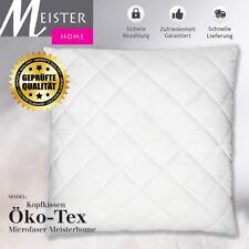 Microfaser Kopfkissen Öko-Tex , allergikergeeignet,steppung, 80x80cm Meisterhome