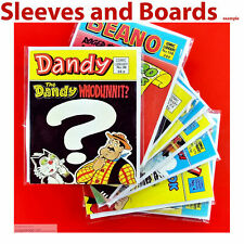 Beano Comic Library  New Comic Bags and Boards/Backing Sheets NEW x 10 .