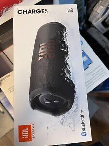 JBL Charge 5 Black Bluetooth Speaker Brand New