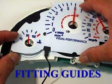Vauxhall Vectra B 140mph interior Speedo clock dash panel bulb lighting dial kit