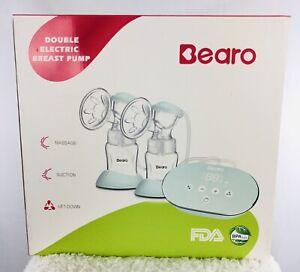 Bearo Double Electric Breast Pump New Moms Feeding