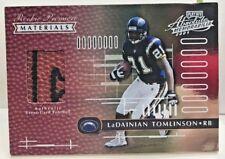 Ladainian Tomlinson 2001 Playoff Absolute Memorabilia RC Football Patch #'d/850