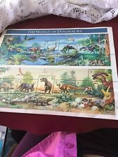 USPS Dinosaurs, and 22 cent Cats, Folk Art Ducks, US Animals