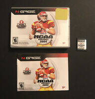 NCAA Football 2004 - Nokia N-Gage NGAGE - Manual Case Game