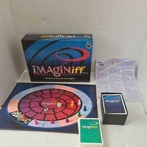 Imaginiff Board Game 1994 Family funny game vintage 8 players