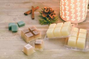 Wax Melts Handmade Highly Scented Wax Melt Snap Bars Fragrances, LARGE 65 GRAM