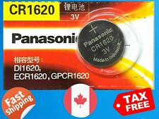 3V Lithium Battery Exp. 2023 1 X Panasonic Cr1620, Dl1620, Ecr1620,