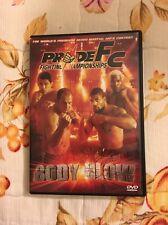 Pride FC Body Blow Pride Fighting Championship DVD
