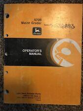 John Deere 570B Motor Grader Owner Operator Maintenance Manual OMT131736