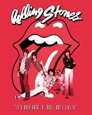 Rolling Stones - It's Only Rock n Roll - Ready Framed Canvas 40x50cm