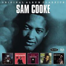 SAM COOKE - ORIGINAL ALBUM CLASSICS 5 CD NEU