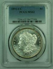 1891-CC Morgan Silver Dollar S$1 PCGS MS-62 SPL Semi-Proof-Like (25)