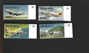 St. Kitts sc#206-9 (1987) Complete MNH