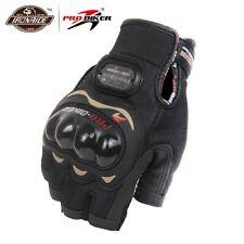 PRO-BIKER Moto Gloves Racing Half Finger Summer Gloves Riding Protective Gloves