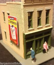 WEATHERED HO SCALE DIORAMA METAL HANGING BUILDING SIGN CHESTERFIELD CIGARETTES