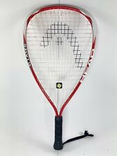 Racquetball Racquet HEAD Ti Laser PZ 3 5/8 Titanium Technology Red and White