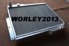 2 core 56mm aluminum radiator for MG MGB GT V8 1973-1976 manual 1974 1975 1976