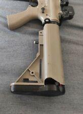 comma calcio G&G Combat Machine Airsoft Raider Shorty M4 M16 AEG stock butt pad