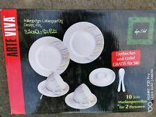 10 Teile - Geschirr - Markenporzellan Für 2 Personen