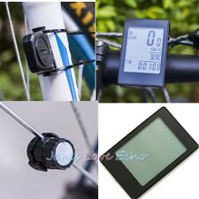 Bike Wireless Computer Code Table Waterproof Stop Watch Touchable Mileage Clock