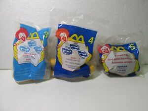 McDonald's Set Of 3 Disney's House Of Mouse Happy Meal Toy 2001 t4930