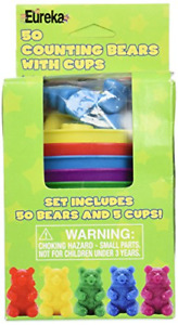 50 Counting Bears with 5 Cups