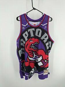 Mitchell & Ness Hardwood Classics Toronto Raptors Basketball Jersey Size 2XL
