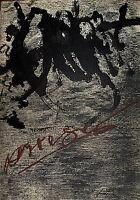 Tapies Lithographie originale signée sur velin Art Abstrait Abstraction Espagne