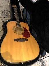 Hohner Professional Acoustic Guitar HW-640 NTF w/ Takamine Hard Case