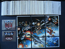 More details for *** panini transformers (1986) complete sticker set ***