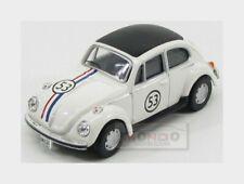 Volkswagen Beetle #53 Herbie 1968 Walt Disney Ivory HONGWELL 1:43 HG11840