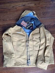 Simms Guide Fishing Jacket - Men's L Honey Brown. New w/ tags