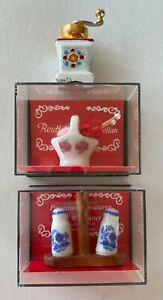 Miniature porcelain pieces, from Germany, Reutter Porzellan