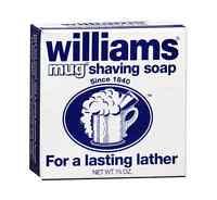 Williams Mug Shaving Soap Regular 1.7 oz (Pack of 5)