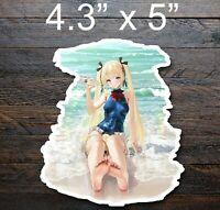 Anime Slap Waifu Dead or Alive marie rose Vinyl bumper sticker car decal