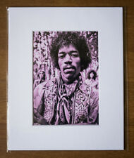 JIMI HENDRIX 1968 - HIGH QUALITY PRO MATTED PHOTO RARE!