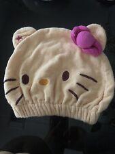 HELLO KITTY Towel Hair Cap
