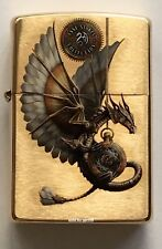 Zippo Windproof Anne Stokes Mythological Dragon Lighter, 62021, New In Box