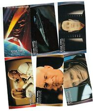Star Trek Insurrection Movie - 72 Card Widescreen/Widevision Basic/Base Set 1998