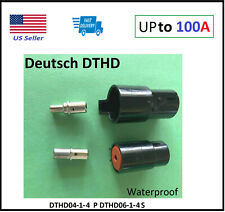 100amp Deutsch Dthd 1 Pin Way Connector Male Amp Female Dthd04 1 4p Dthd06 1 4s