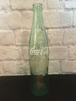 Vintage Old Glass Coca-Cola Coke Bottle 1 Pint Painted Label 16 oz Memphis