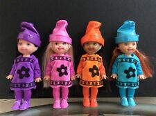 Kelly Club Crayon Set of 4 Dolls ~ 2003 For Play or OOAK